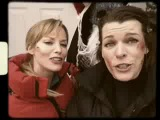 Поздравления с Новым Годом, от Милы Йовович... Прямиком с сьёмок фильма Обитель зла 5: Возмездие